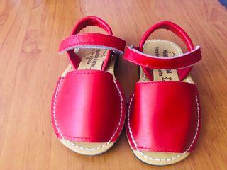 Menorquinas Unisex rojas