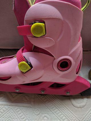 patines linea de niña marca oxelo Decathlon
