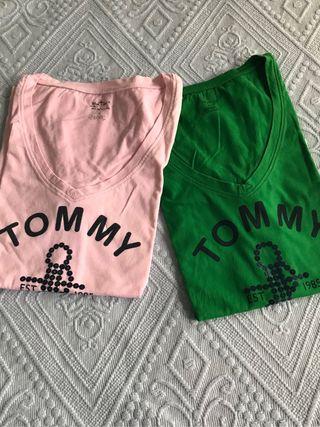 Camiseta Tommy Hilfiger. Talla L. Nueva