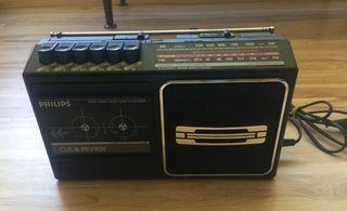 Radio cassette Philips vintage