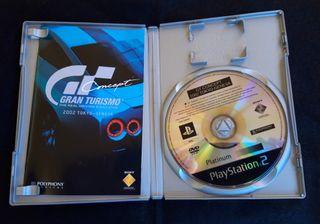 VIDEOJUEGO GRAN TURISMO 2002 TOKIO GENEVA PS 2