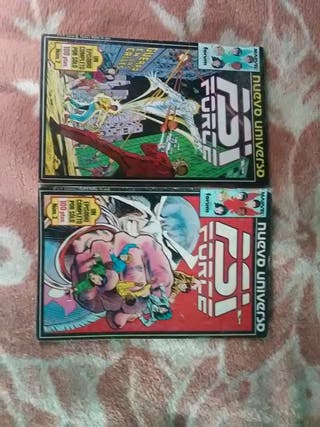 comics Nuevo Universo PSI Force Marvel