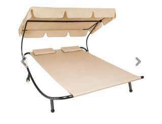 SÓLO la estructura tumbona cama doble