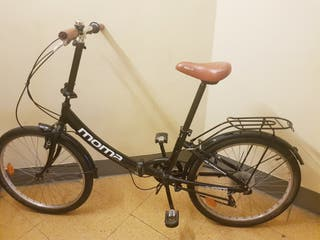bicicleta plegable : Como nueva