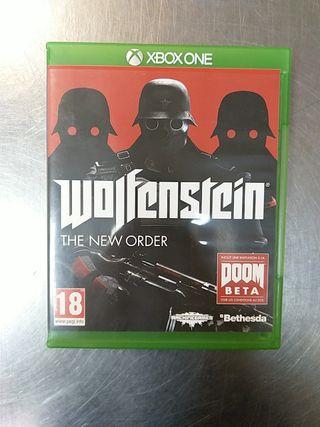 Wolfenstein The New Order, XBOX ONE