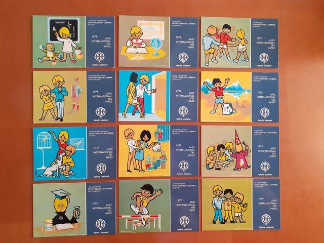 postales serie L completa