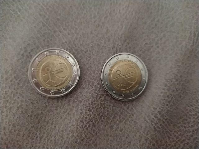 Monedas de 2 € conmemoración UEM