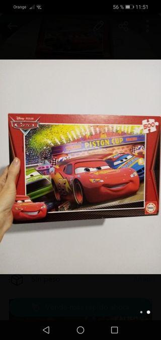 puzzle 500 piezas EDUCA de Cars