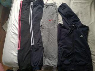 Pantalones Adidas y Nike y sudadera Adidas