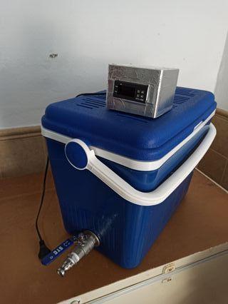 Macerador en termonevera con accesorios