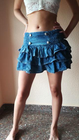 falda vaquera Jeans