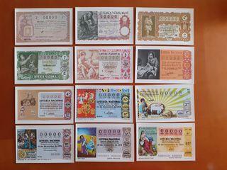 postales serie N completa