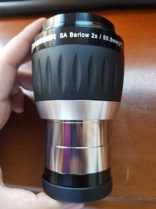 """Barlow SA 2x - 2"""" y adaptador 1,25"""" - Telescopio"""