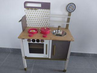 cocinita de madera para niñ@s