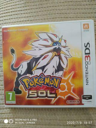 Pokemon sol para Nintendo 3DS
