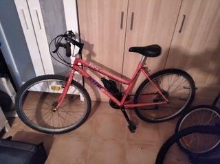"""Bicicleta montaña mujer 26"""""""