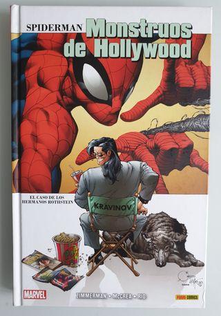 Cómics Marvel Spiderman Monstruos de Hollywood