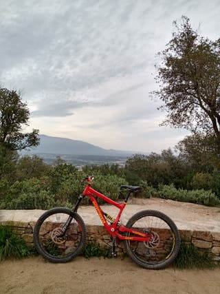Cuadro Enduro/descenso commençal O bici entera