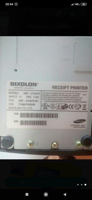 impresora y cajon