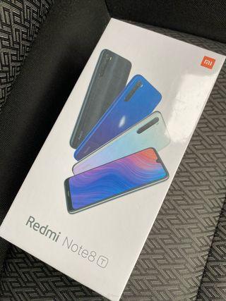 Xiaomi Redmi Note 8T . Sin abrir