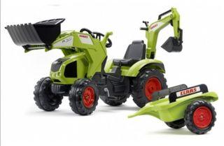 tractor pedales coche niño