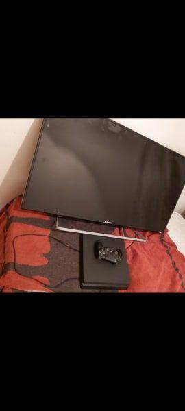 pack ps4 slim 1tb y tele mas 2 juegos un mando