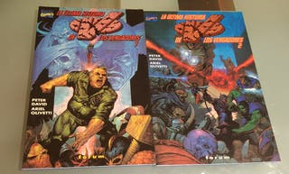 Comics Marvel La ultima historia de los Vendadores