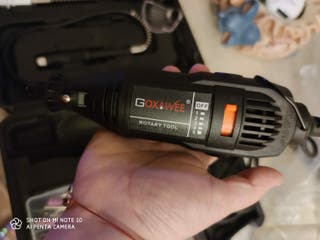 Mini amoladora eléctrica