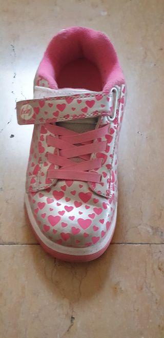 Zapatillas con ruedas Heelys niña talla 33