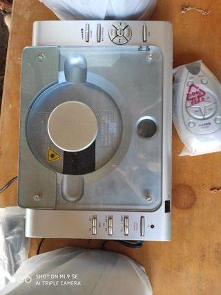 Reproductor musica/discos con altavoces