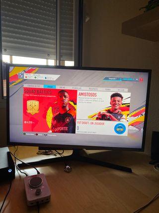 Monitor Qled Samsung 32sh850 4k