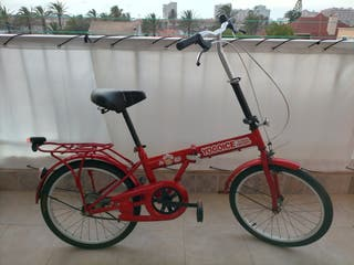 Vendo bicicleta plegable