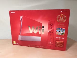 Nintendo Wii Roja