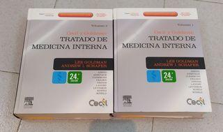 Tratado de medicina interna. celcil y Goldman. por