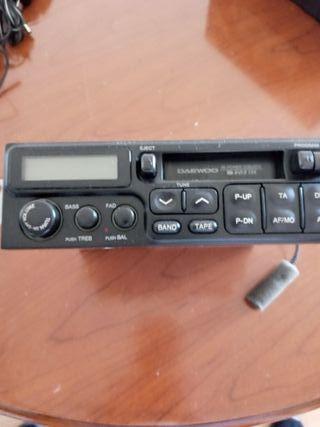 radio cassette Daewo