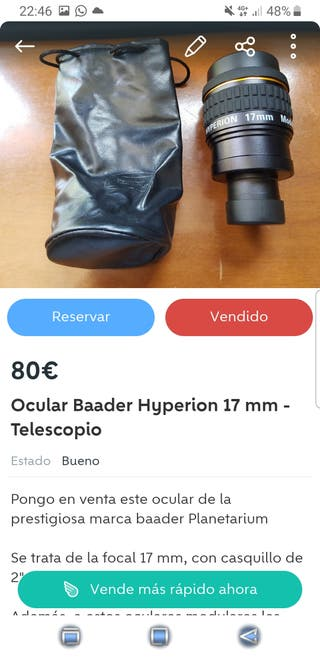 Lote Oculares Hyperion para Javier