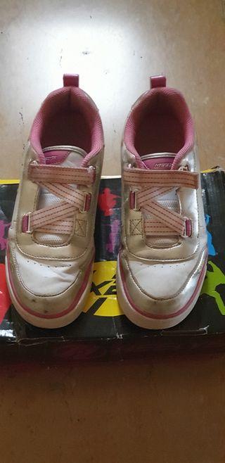 Zapatillas con ruedas Heelys niña talla 35
