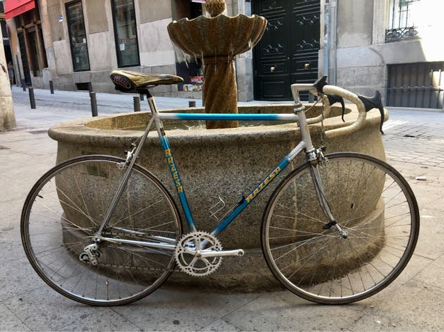 Bicicleta Razesa Cromovelato t. Grande 58cm