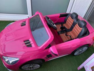Coche eléctrico para niños Mercedes Benz 12V