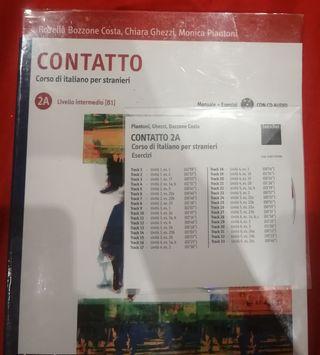 libro italiano Contatto 2A livello intermedio(B1)