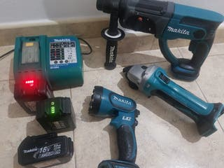 KIT MAKITA 18 VOLTIOS LITIO