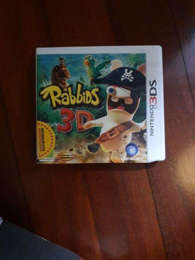 Rabbids 3D Nintendo 3DS