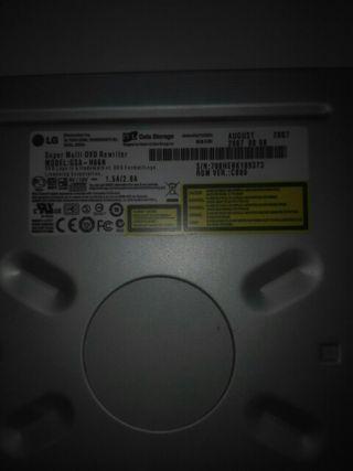 re-grabadora dvd ordenador