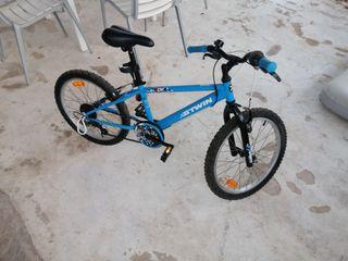 bicicleta ñiño btwin