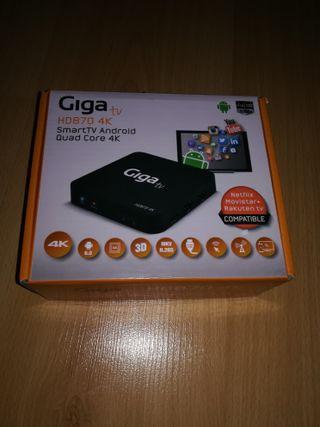 Giga tv smartTV