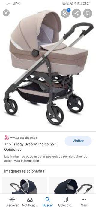 vendo carrito 3 piezas inglesina trilogy city