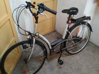 Bicicleta paseo Decathlon+regalo silla niño/niña