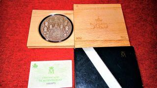 10000 pesetas 1992 de plata.