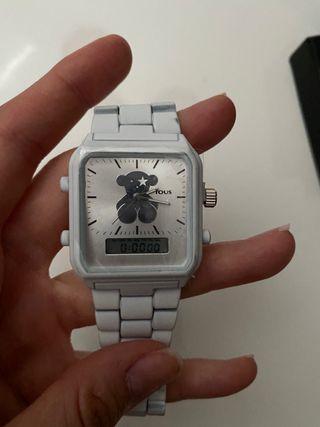 Reloj osito color blanco nuevo sin uso!
