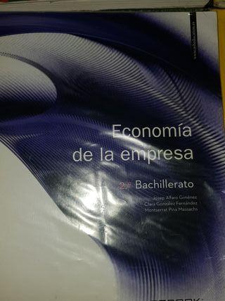 Libros 2 Bachillerato rama ciencias sociales